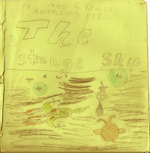 The Strange Ship -- Cover