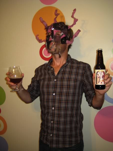 Mask and Beer